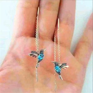 Hummingbird earings
